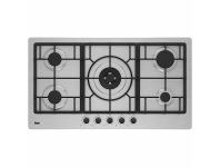 Appliances Online Beko 90cm Stainless Steel Gas Cooktop BCT90GX1