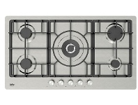 Appliances Online Beko BCT90GX 90cm Natural Gas Cooktop