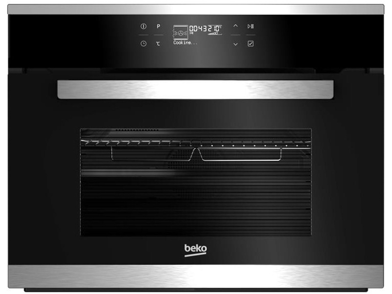 Beko BCW15500X 600mm/60cm Electric Built-In Compact Oven with Microwave