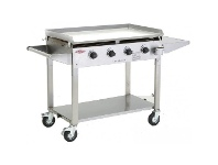 Appliances Online Beefeater BD16440 Clubman 4 Burner Flat Top LPG BBQ