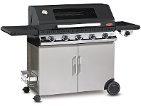 Appliances Online Beefeater BD47852 Discovery 1100E 5 Burner Mobile LPG BBQ