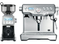 Appliances Online Breville BEP920BSS Dynamic Duo Dual Boiler with Smart Grinder