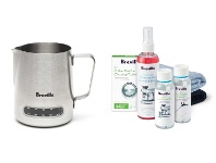 Appliances Online Breville BES003BES015CLR the Temp Control Milk Jug and Espresso Detox Pack