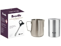 Appliances Online Breville BESPACK3 Wand Cleaner and Coffee Canister with Milk Jug Pack