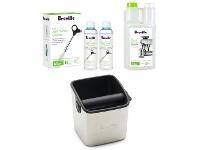 Appliances Online Breville BESPACK4 Knock Box and Liquid Descaler with Milk Frother Cleaner Pack