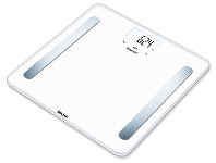 Appliances Online Beurer BF600W Bluetooth Glass Body Fat Scale