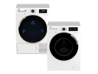 Appliances Online Beko 8.5kg/8kg Laundry Package BFL853ADWBDP83HW