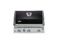 Appliances Online Napoleon BILEX485RBINK-AU Lex 485 Black Built-In Natural Gas BBQ
