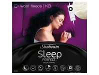 Appliances Online Sunbeam BL5681 Sleep Perfect® Super King Bed Wool Fleece Heated Blanket