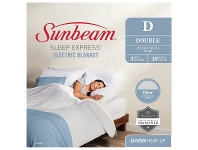 Appliances Online Sunbeam Sleep Express Boost Double Bed Fitted Heated Blanket BLB4841