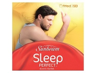 Appliances Online Sunbeam Sleep Perfect Single Bed Fitted Electric Blanket BLF5121