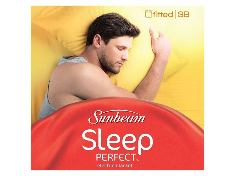 Sunbeam Sleep Perfect Single Bed Fitted Electric Blanket BLF5121