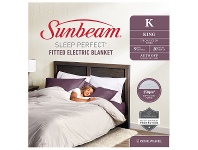 Appliances Online Sunbeam Sleep Perfect King Fitted Heated Blanket BLF5171