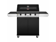 Appliances Online Beefeater 1200 Series 4 Burner LPG BBQ with Trolley & Side Burner BMG1241BB