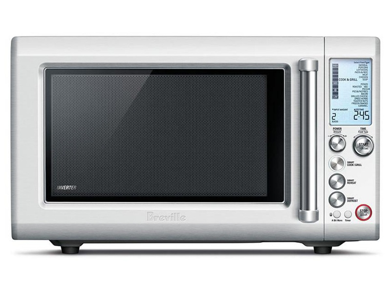 Breville BMO700BSS 25L the Quick Touch Crisp Microwave Oven 1000W