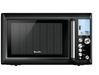 Appliances Online Breville BMO735BKS 34L the Quick Touch Microwave Oven 1100W