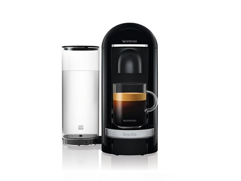 Breville VertuoPlus Deluxe Coffee Machine Bundle Black BNV450BLK