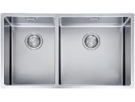Appliances Online Franke BOX220-42/29SBL Bolero 1 and 3/4 Bowl Sink