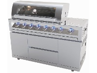 Appliances Online Gasmate BQ1090 Galaxy 6 Burner Mobile LPG BBQ