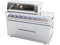 Appliances Online Gasmate BQ1090NG Galaxy 6 Burner Mobile Natural Gas BBQ