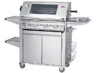 Appliances Online Beefeater BS19440 Signature Premium Plus 4 Burner Mobile LPG BBQ