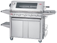 Appliances Online Beefeater BS19650 Signature Plus 5 Burner Mobile LPG BBQ