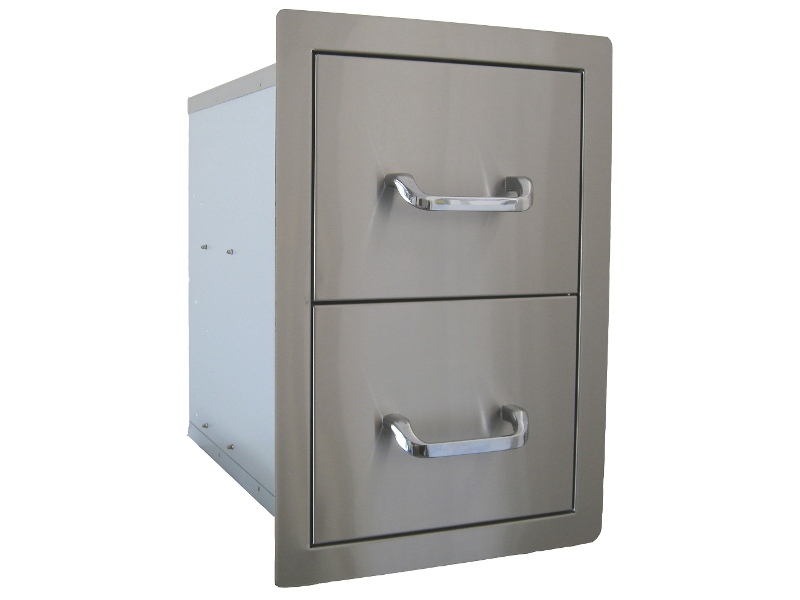 Beefeater BS24200 Built-In Double Storage Drawer