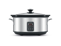 Appliances Online Breville BSC420BSS the Smart Temp 6L Slow Cooker
