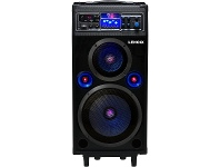 Appliances Online Lenoxx BT9377 Portable Bluetooth Speaker System with FM Radio
