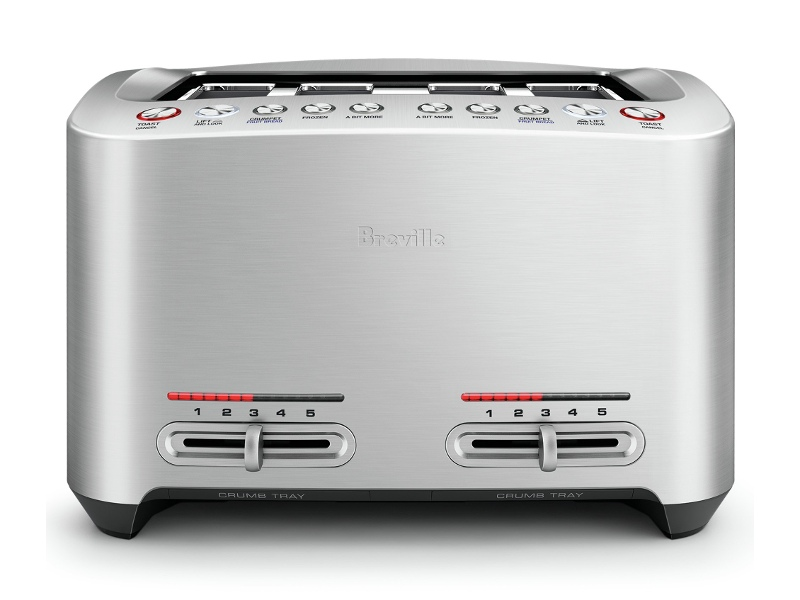 Breville BTA845BSS the Smart Toast 4 Slice Toaster