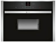 Appliances Online NEFF C17DR02N0 45cm Compact Electric Built-In Steam Oven
