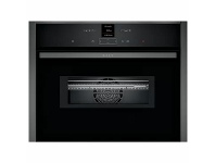 Appliances Online NEFF N70 60cm Built-In Compact Oven with Microwave Function C17MR02G0B