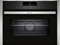 Appliances Online NEFF C18FT56H0B 45cm Compact Built-In Steam Oven