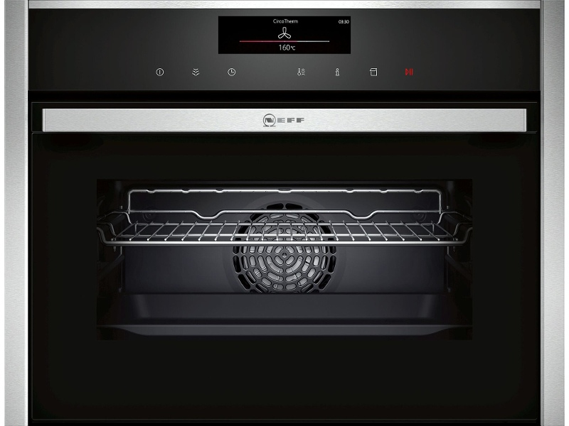 NEFF C18FT56H0B 45cm Compact Built-In Steam Oven