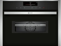 Appliances Online NEFF C28QT27N0 45cm Compact Pyrolytic Built-In Combi-Microwave Oven