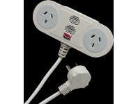 Appliances Online THOR Technologies 2 Outlet Smart Filter Surge Protector C2