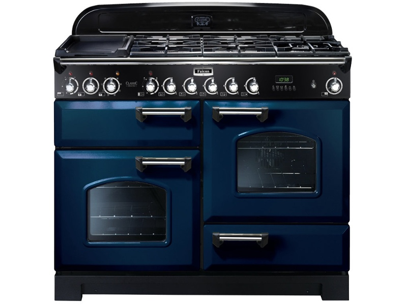 Falcon CDL110DFRB-CH 110cm Freestanding Dual Fuel Oven/Stove