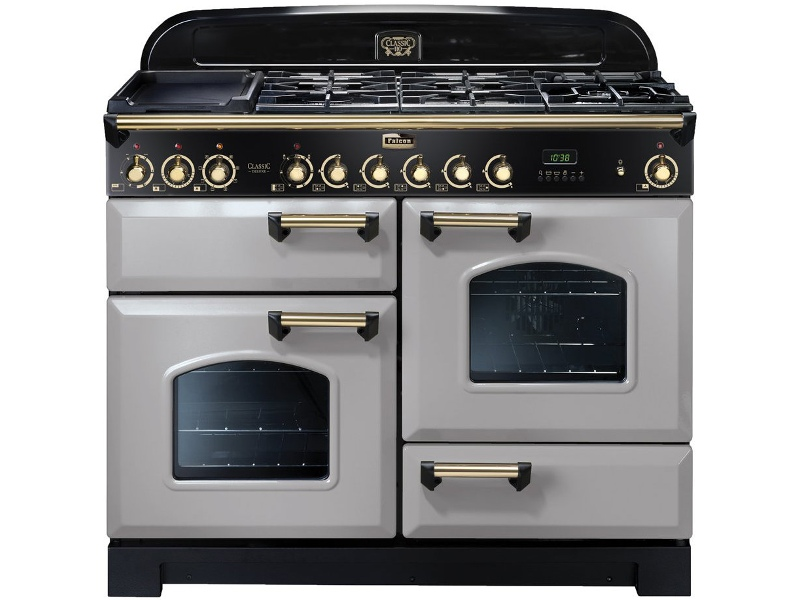 Falcon CDL110DFRP-BR 110cm Freestanding Dual Fuel Oven/Stove