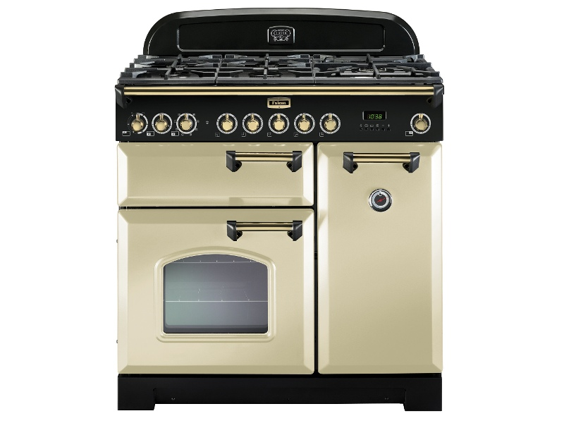 Falcon CDL90DFCR-BR 90cm Freestanding Dual Fuel Oven/Stove