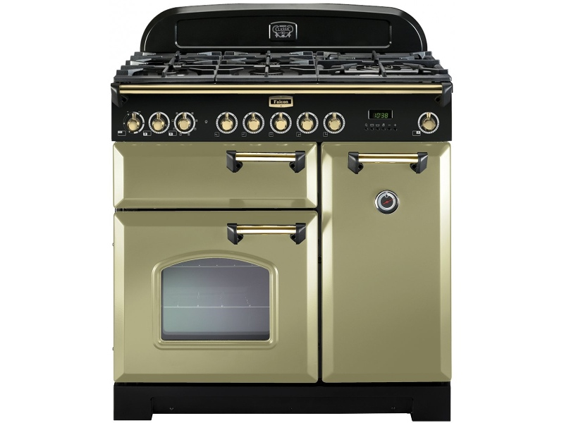 Falcon CDL90DFOG-BR 90cm Freestanding Dual Fuel Oven/Stove