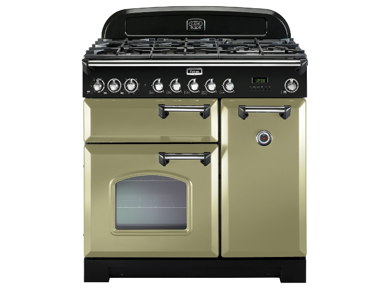 Falcon CDL90DFOG-CHLPG 90cm Freestanding Dual Fuel Oven/Stove