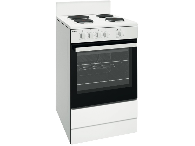 Chef CFE532WB 54cm Freestanding Electric Oven/Stove