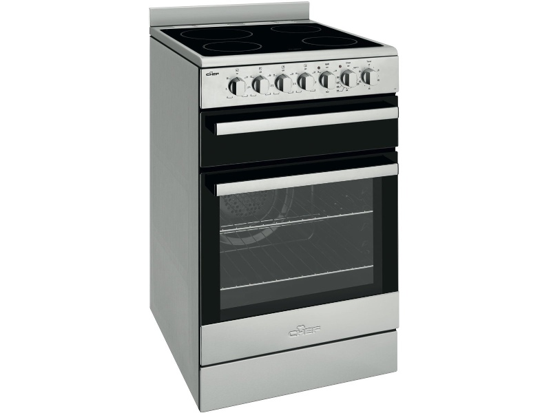 Chef CFE547SB 54cm Freestanding Electric Oven/Stove