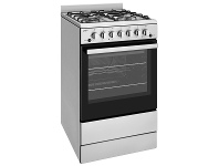 Appliances Online Chef CFG504SBNG 54cm Freestanding Natural Gas Oven/Stove