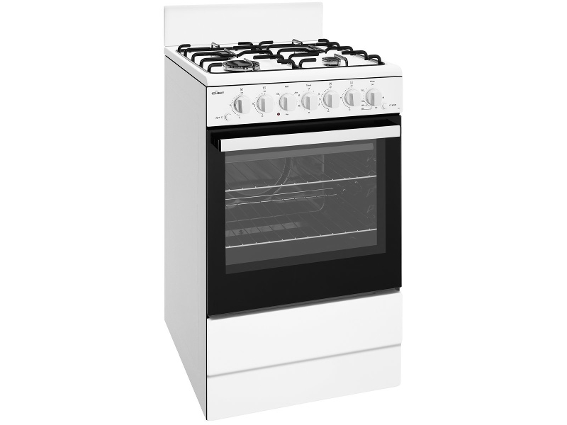 Chef CFG504WBNG 54cm Freestanding Natural Gas Oven/Stove