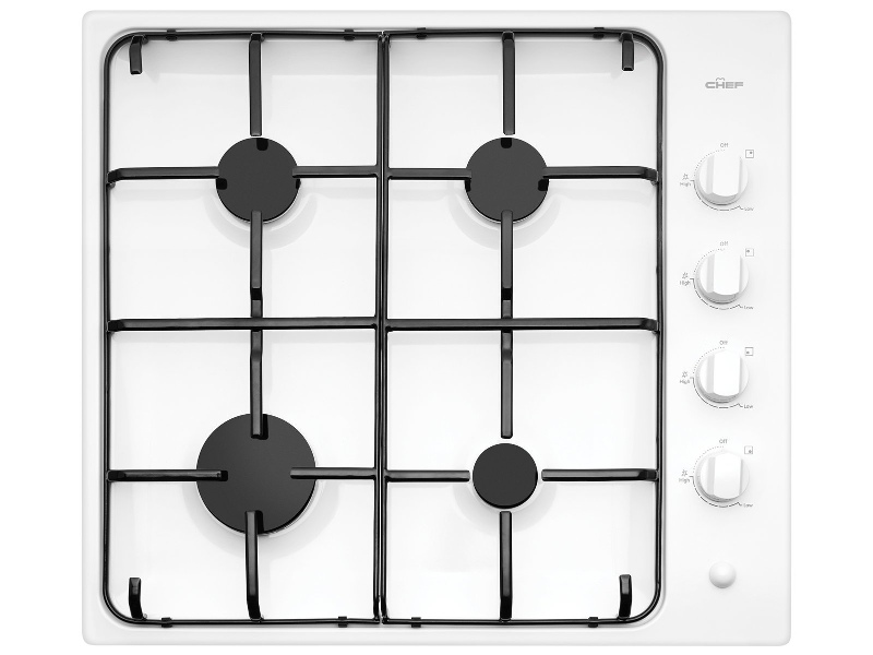 Chef CHG642WB 60cm Natural Gas Cooktop