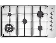 Appliances Online Chef CHG956SB 86cm Natural Gas Cooktop