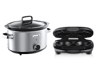 Appliances Online Sunbeam Crock-Pot Traditional 3.5L Slow Cooker and Pie Magic® Pie Maker Pack CHP200PM4210