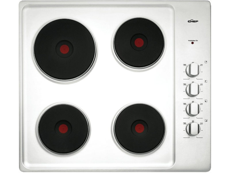Chef CHS642SA 60cm Electric Cooktop