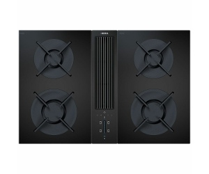 BORA Professional 86cm Natural Gas Cooktop with Integrated Ventilation System CKA2G